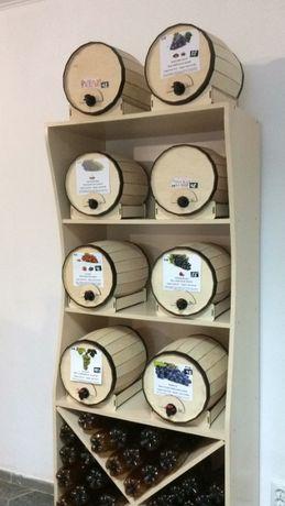 Деревянные бочки для Tetra Pak bag-in-box. Муляж. Имитация. Декор