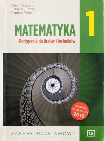 Marematyka  zakres podstawowy klasa 1 podręcznik do liceum i technikum