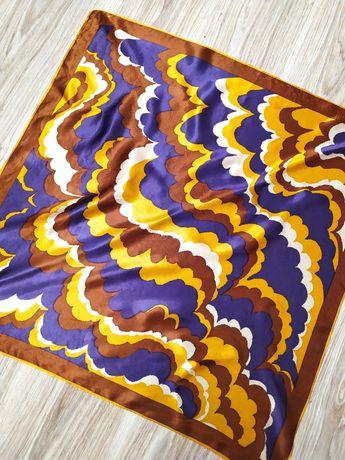 РАСПРОДАЖА! Шелк шёлк шёлковый платок косынка винтажный тренд сезона