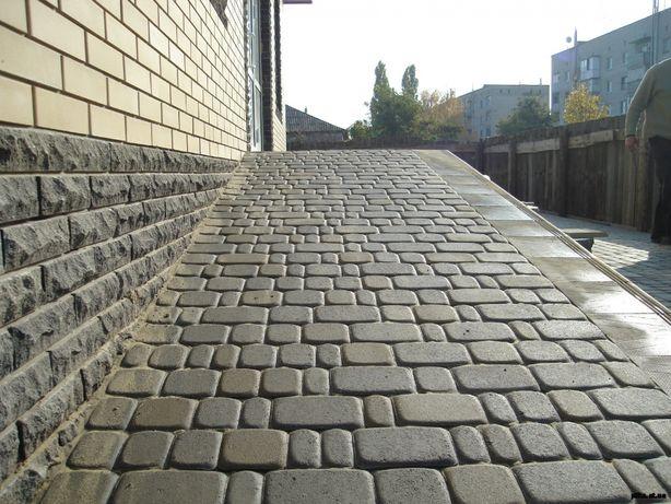 монтаж тротуарної плитки