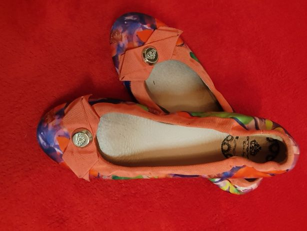 Fornarina włoskie balerinki roz 38 dł 24,5 cm