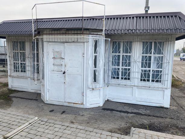Металевий утеплений з ремонтом магазин маф ларьок