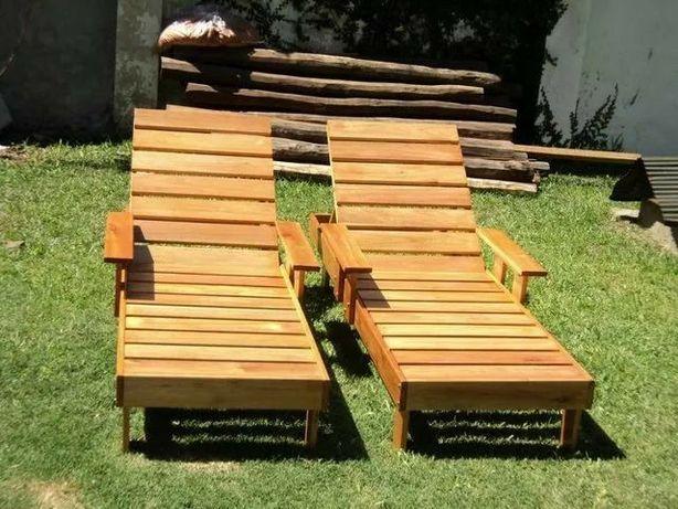 Продам деревянные лежаки шезлонги