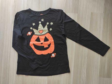 Реглан тематический лонгслив Halloween Хэллоуин 134/140, 9-10 лет