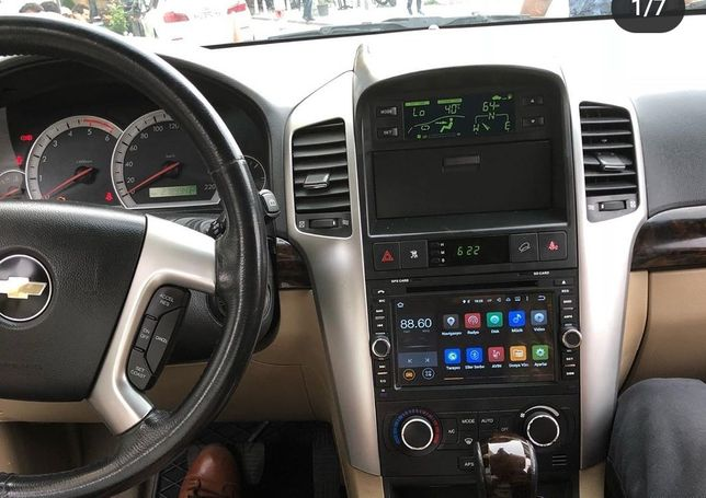 Auto Rádio Android Chevrolet Captiva Aveo Épica Spark GPS Bluetooth