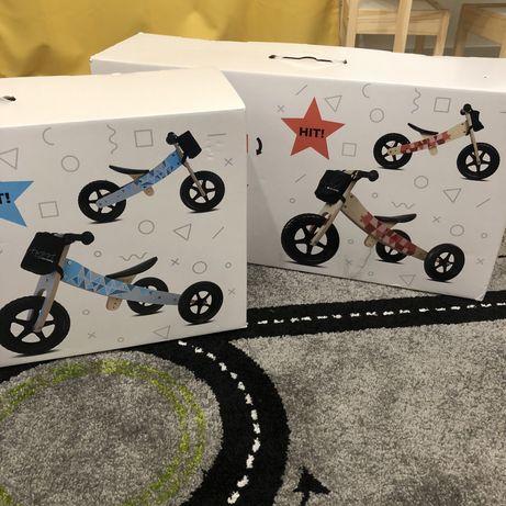 Rowerek  trójkołowy  i biegowy  2w1 Rozowy