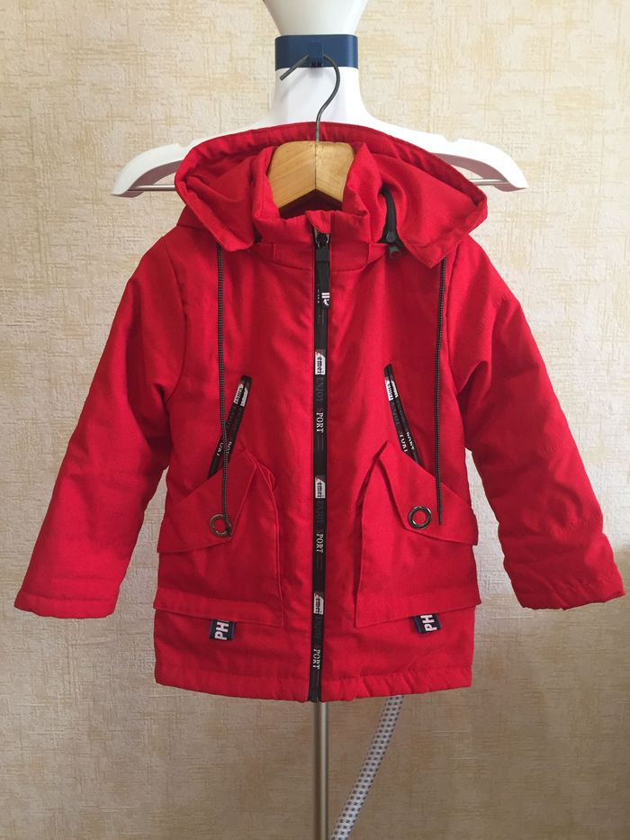 Куртка осенняя красная Староконстантинов - изображение 1