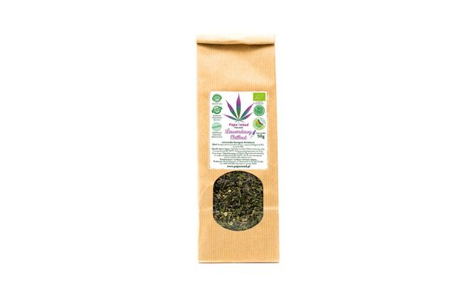 "Ekologiczna Herbata Konopna ""LAWENDOWY CHILLOUT"" 50G"