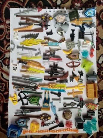 Лего фигурки оружие аксессуары