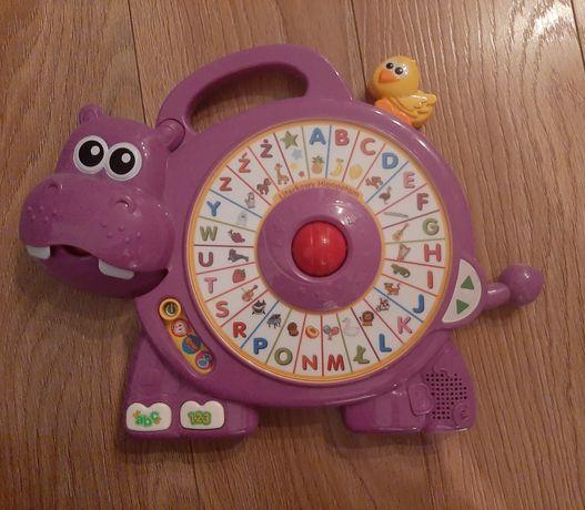 Literkowy hipopotam Vtech edukacyjny