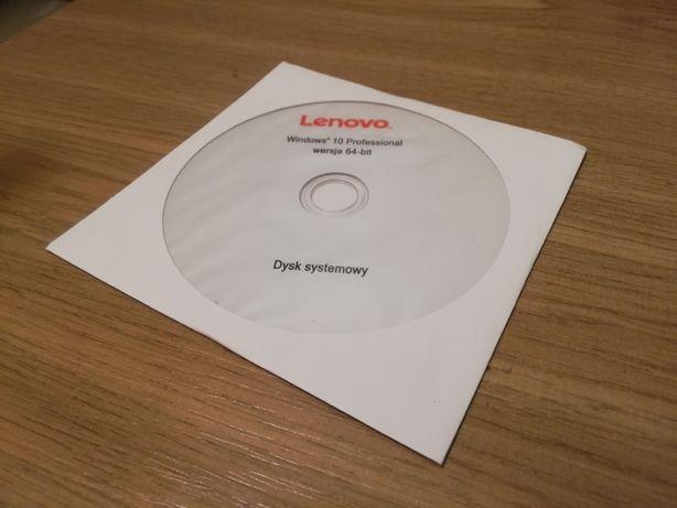 Windows 10 Professional PRO 64-bit płyta instalacyjna dysk systemowy