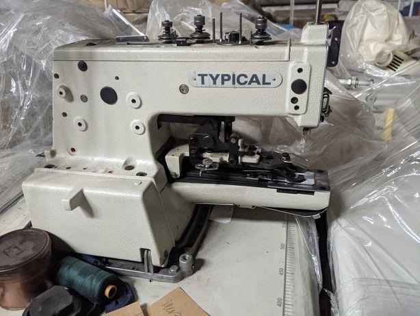 Швейная машина Typical GT660-01 Пуговичный полуавтомат