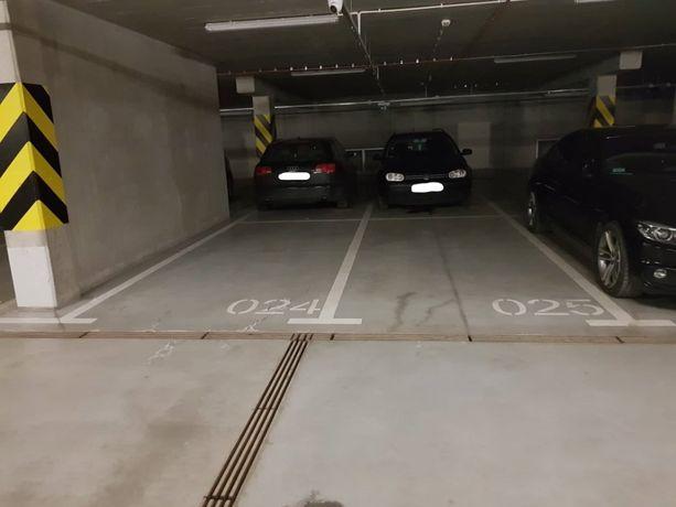 Wynajem miejsca postojowego w parkingu podziemnym