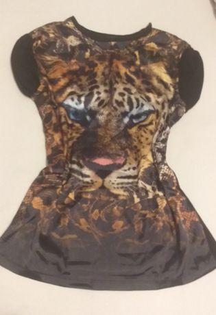 Bluzka damska ze wzorem