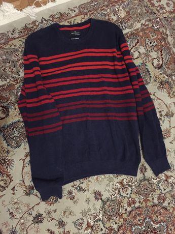 мужской свитер кофта лонгслив 100 хлопок идеал р52