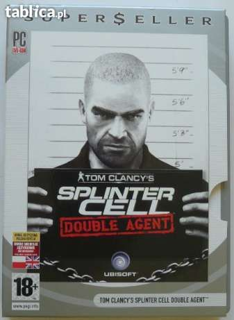 Gra SPLINTER CELL Double Agent Tom Clancy's lub zamienię