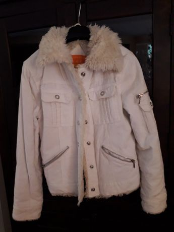 Kurt,sweter Rozm. 152,biała kurtka S cena 30zł