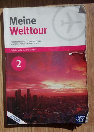 Meine Welttour 2 podręcznik do języka niemieckiego