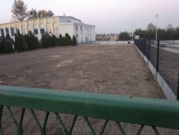 Wynajem działka centrum rydułtów obok stadionu korty ul bema 740m