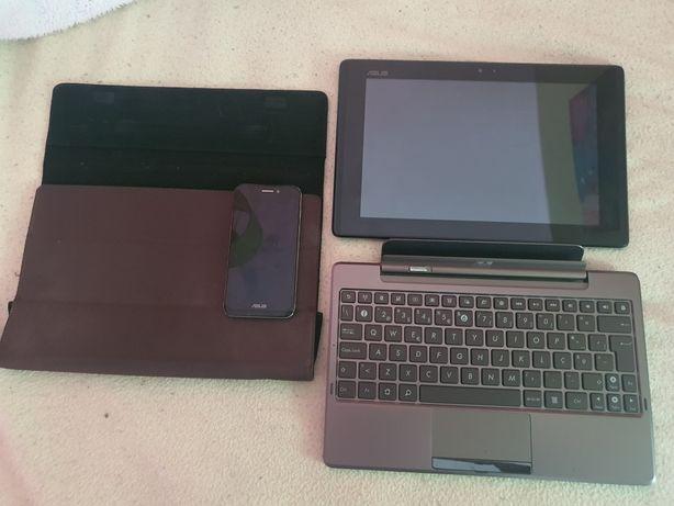 Computador portátil, telemóvel e tablet
