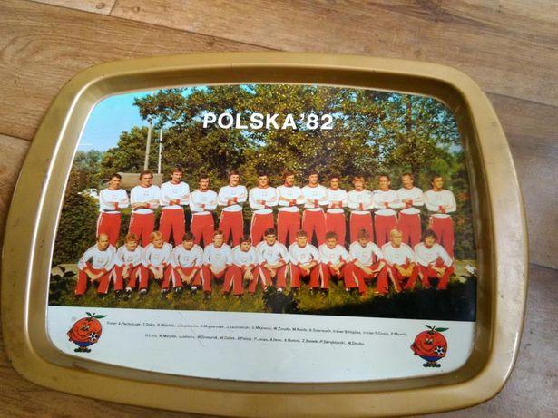 Taca z reprezentacją Polski 82r
