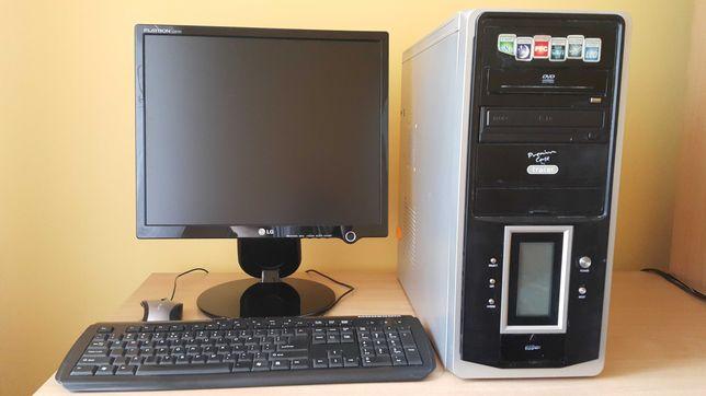 Zestaw komputerowy (komputer stacjonarny z monitorem)