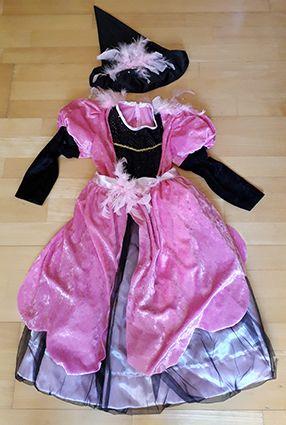 Vestido de princesa, 5-8 anos, Carnaval