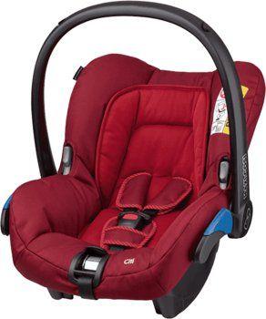 ~NOWY Maxi-Cosi Citi Fotelik Samochodowy 0-13kg Robin Red dla dzieci