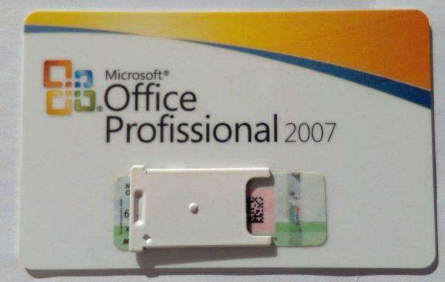 Microsoft office profissional 2007