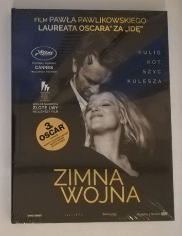 Film DVD - Zimna wojna - (3 x Oscar) - [ZAFOLIOWANE, oryginał] [NOWE]