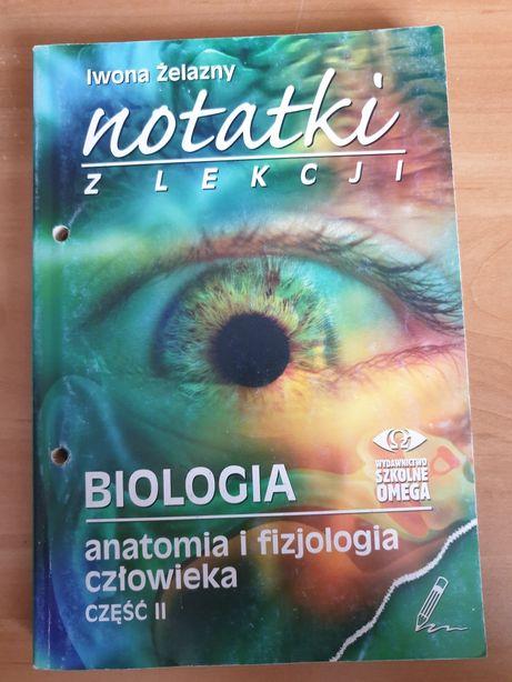 Żelazny Notatki z lekcji biologia anatomia i fizjologia człowieka
