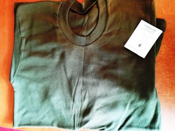 Koszulka khaki z dł. rękawem