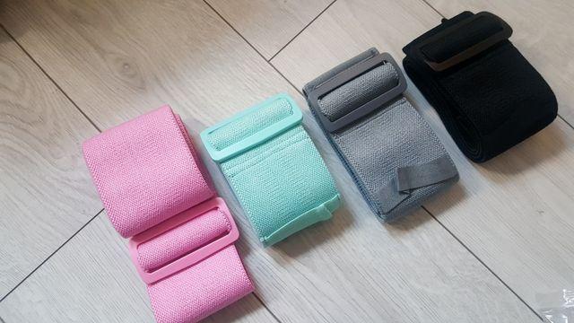 taśmy guma do ćwiczeń regulowana fitness kolory