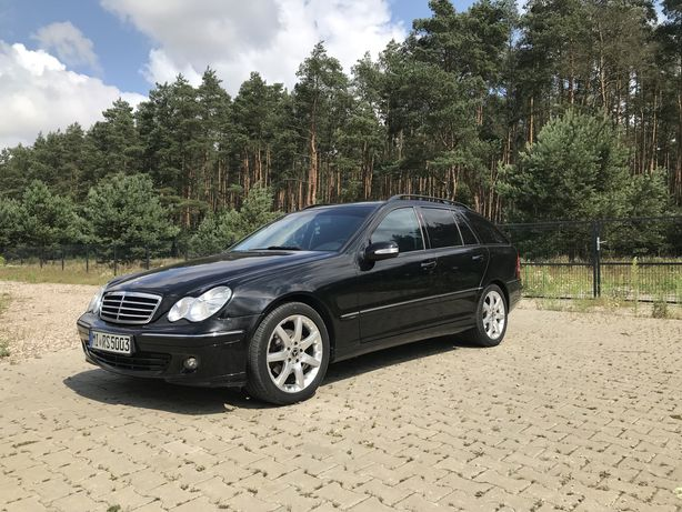 Mercedes Benz W203 C180 benzyna 2006r klima serwis