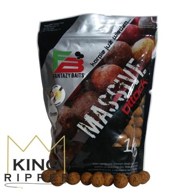 Kulki proteinowe 18mm Massive Attack 1kg