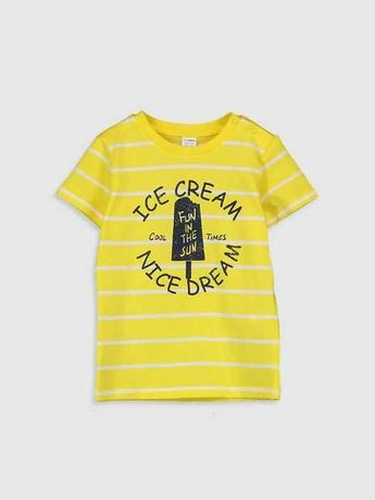 Яркая футболка на малыша 2-5 лет