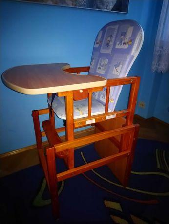 Krzesło dziecięce ze stolikiem