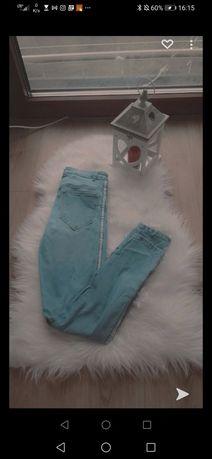 Dżinsy jasnoniebieski