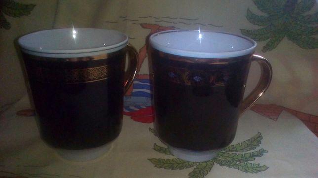 Чашки кобальт