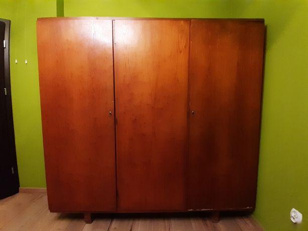 Szafa dębowa 3 drzwiowa