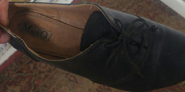 Туфлі кожані,стан хороший