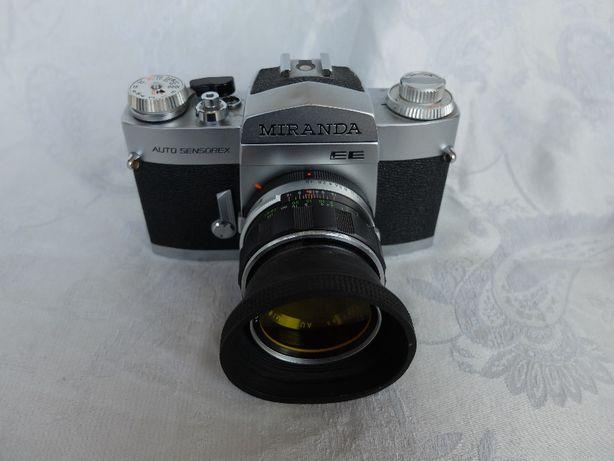 !!! Miranda Auto Sensorex EE + ob. 50mm F1.8 + osłona + filtr B+W !!!