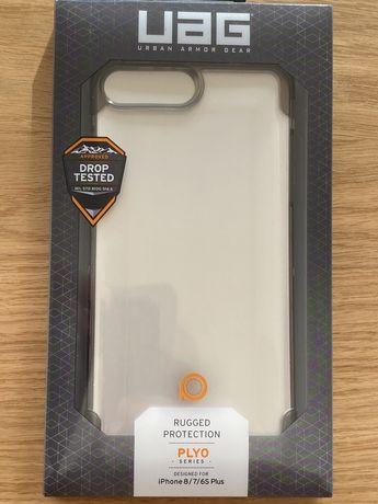 NOVO - Capa Proteção e Pelicula de Vidro UAG Iphone 7/8 Plus