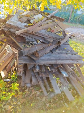 Дрова доски на дрова