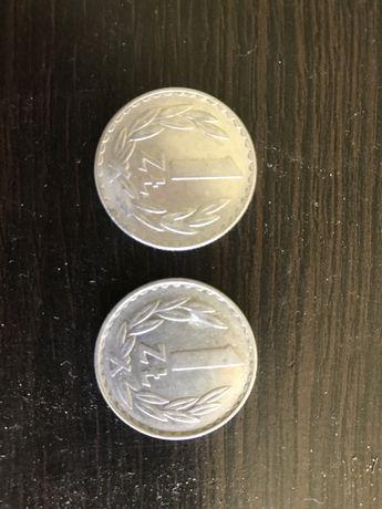 1 złoty 1976 i 1977