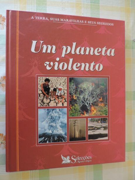 """Livro """"Um Planeta Violento"""""""