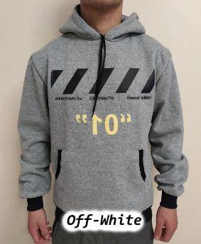 Срочно худи ! Серый. OFF-WHITE.