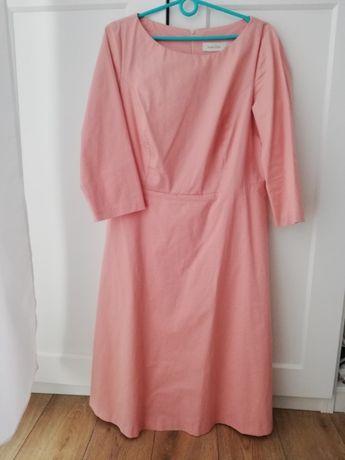 Sukienka Marie Zelie -Asteria dusty pink r.42