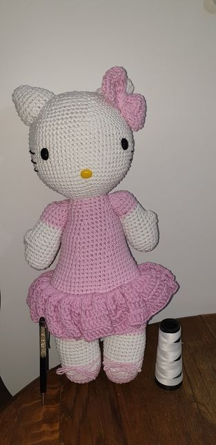 Helo kitty croche