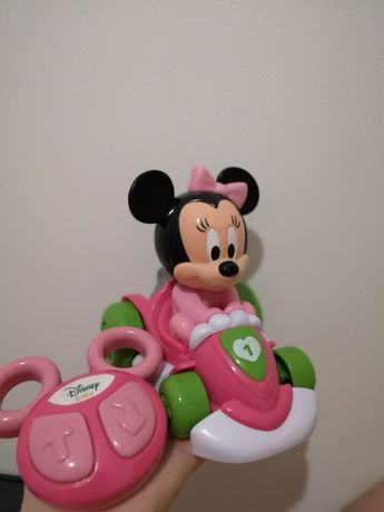 Clementoni Baby Minnie Gokart na pilota +12miesiecy